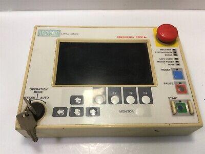 Epson Seiko D-tran Opu-300 Teach Pendant For Scara Robot Controller W 2 Keys