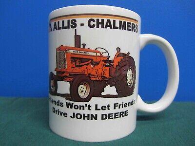 Allis Chalmers D17 Friends Wont Let Friends Drive Jd Coffee Mug