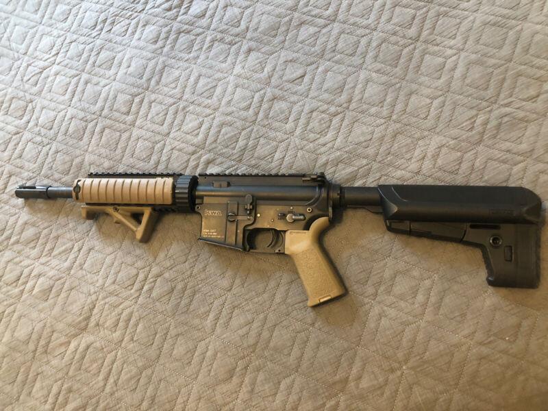 KWA SR7 Devgru Custom Airsoft Gun And Mags