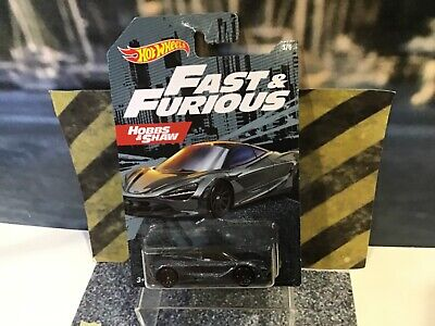 Hot Wheels Fast and Furious Hobbs and Shaw McLaren 720S - New in sealed package