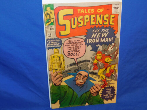 Marvel Tales of Suspense #48 1963 1st Appearance RED & GOLD ARMOR IRON MAN DITKO