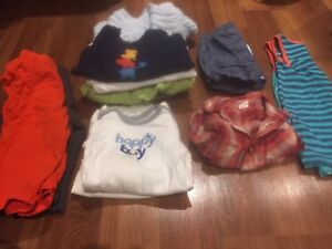 Boys Baby clothes from preemie too 6 months