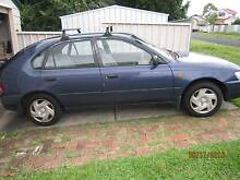 1995 Toyota Corolla Hatchback, Regularly serviced, Rego Lapsed Stockton Newcastle Area Preview