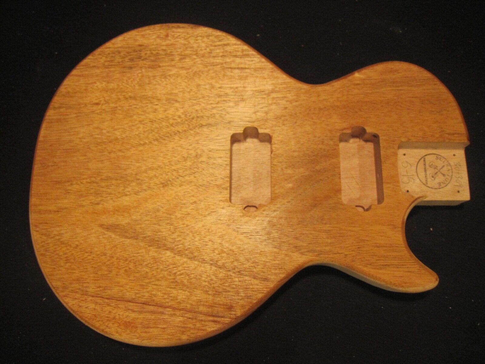 Корпуса (Запчасти для гитары) Les Paul type Body, #A 30-309, US MADE, Unfinished,  Mahogany