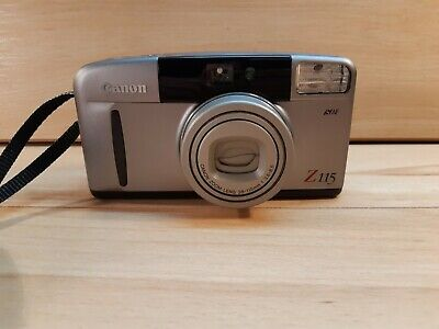 Canon sure shot Z115 point and shoot camera zoom lens 38-115mm 1:3.6-8.5 tested