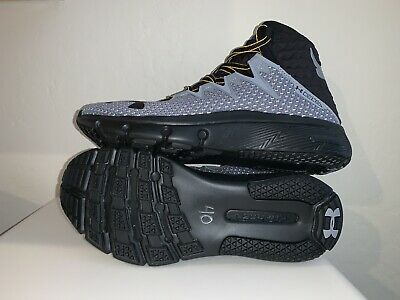 Under Armour Project Rock Delta Training Shoes Size 7 3021055-101 Steel
