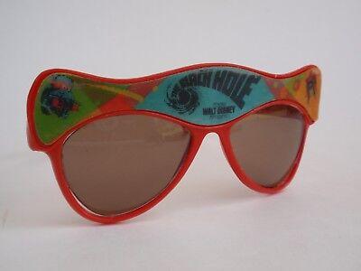 Vintage 1979 Walt Disney The Black Hole Movie Red Promotional Sunglasses (The Sunglass Fix)