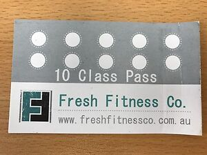 10 Class Pass - Fresh Fitness Latrobe/Shearwater Devonport Devonport Area Preview