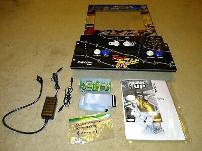 Arcade1up Final Fight control board, bezel, 4 game pcb and extras (all working)