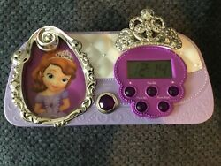 Disney - Sofia the First - Night Glow Character Alarm Clock (SF-346)