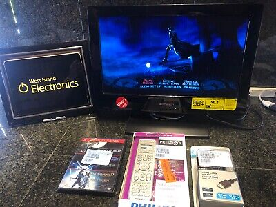 "Emerson LD190EM2 19"" 720p HD LCD Television-BUILT IN DVD-BONUSES"