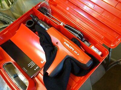 Hilti Semi-Automatic Powder Actuated Tool DX 2 2084262 Fastening Gun DX2 Fasten