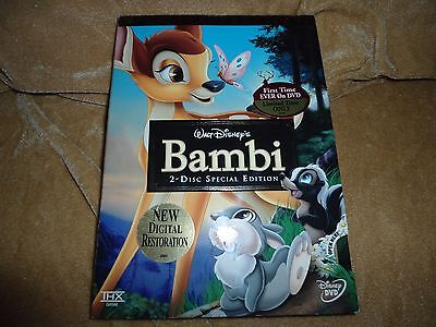 Bambi (Two-Disc Platinum Edition) (1942) [2 Disc DVD] With Slip Case Box