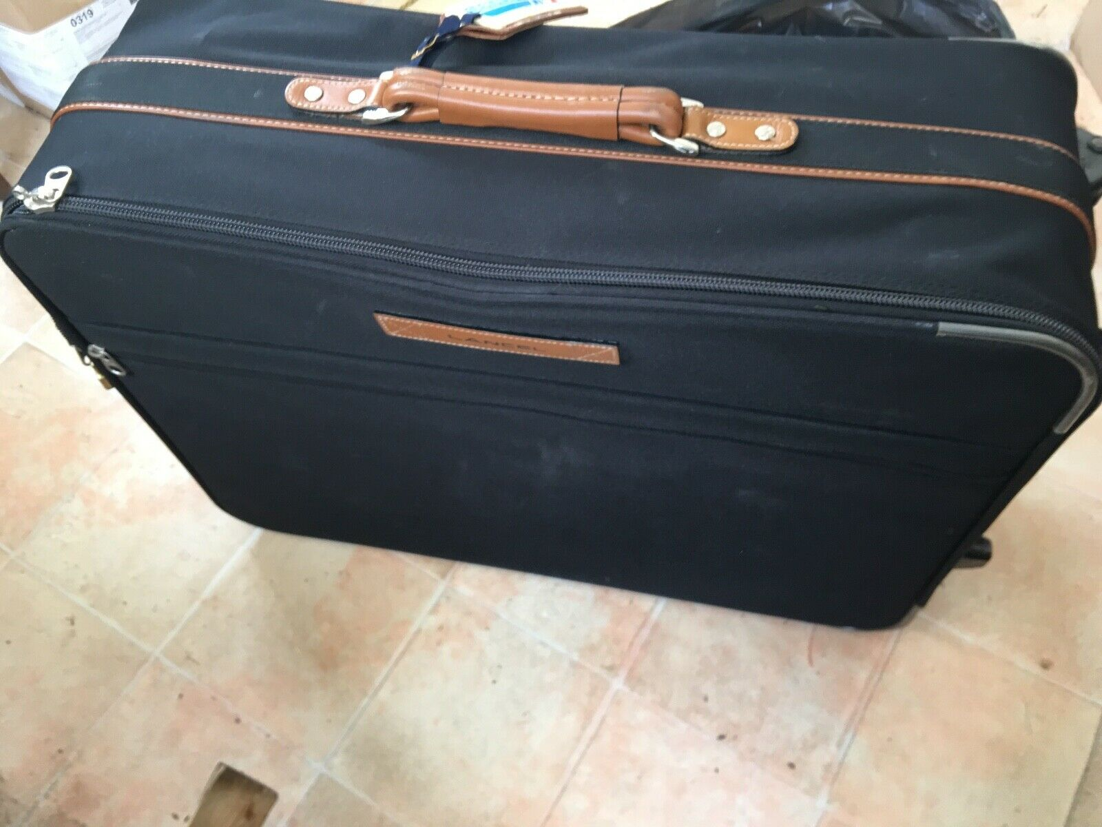 Valise lancel authentique