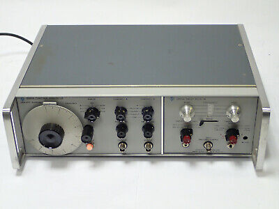 Hp 3300a Agilent Function Generator W Hp 3305a Sweep Plug-in Vintage Tested
