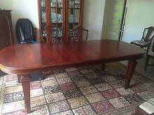Dining table - solid mahogany Torrens Woden Valley Preview