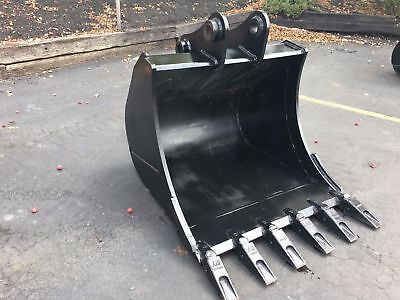 New 36 Heavy Duty Excavator Bucket For A Volvo Ecr88 W Coupler Pins