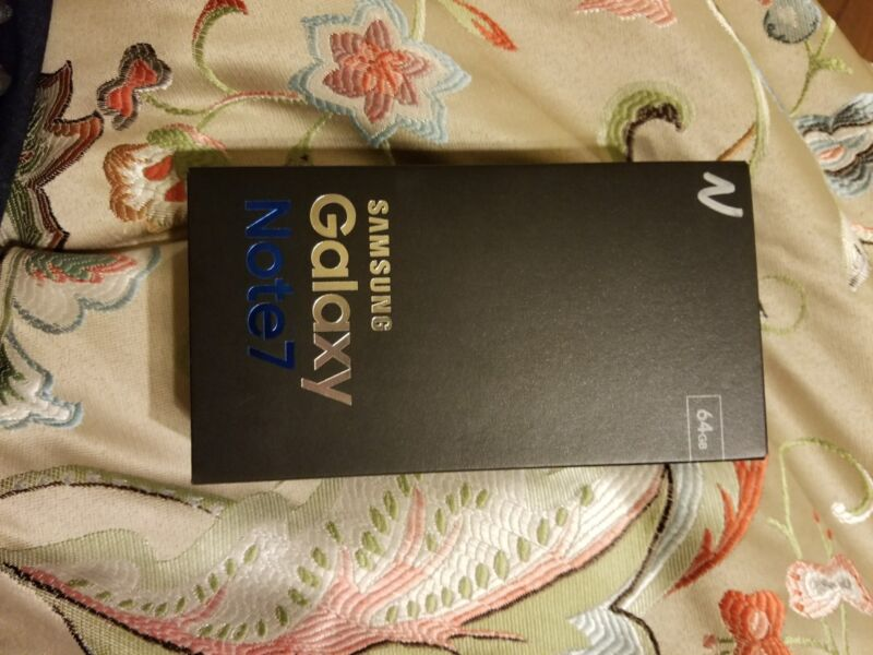 Samsung Galaxy Note 7 BOX ONLY