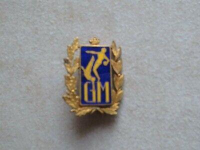 Pins broche Gymnastique Belgique 3 cm