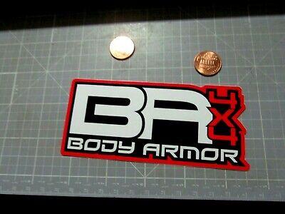 BODY ARMOR Sticker / Decal Automotive ORIGINAL NEW NOS OLD STOCK