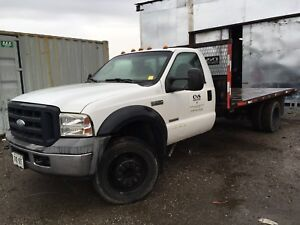 Ford 550 flat bed