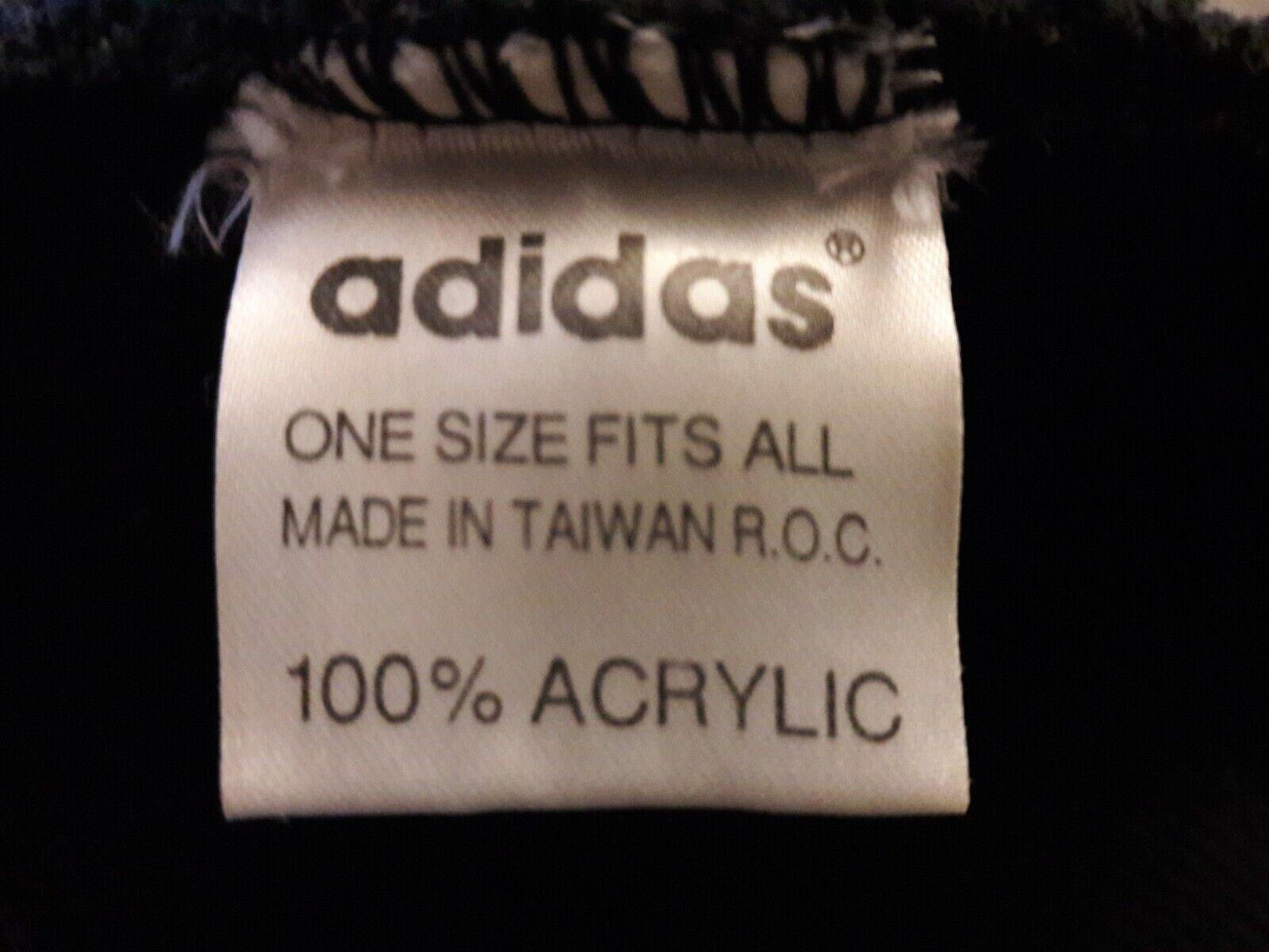 Bonnet en laine homme adidas, noir.