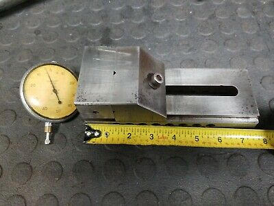 Precision Machinist Grinding Vise Toolmaker With .001 Indicator.