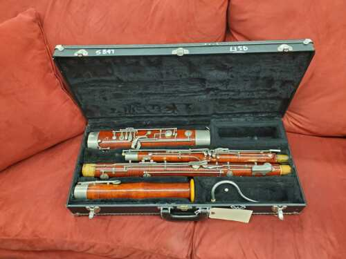 Puchner Bassoon professional model with case great for university or the very se