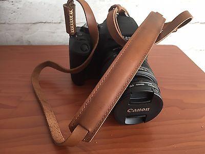 Echt Leder Kamera Tragegurt Trageriemen Leather Camera Strap  Canon  Nikon  #222