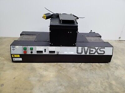 Uvexs 15607-10 Curing Reflow Uv Oven W 15647-6 C Conveyor Uvexs Uncorporated