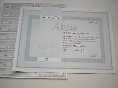 Deutschland -  Sinn-Leffers AG,  1000  DM  1997   1/269-2