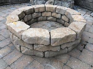 Stone Fire Pit Circle