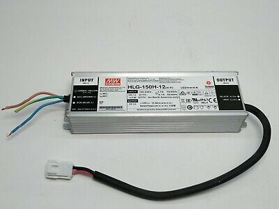 Mean Well Hlg-150h-12 Led Power Supply - New System Pull - Never In Service