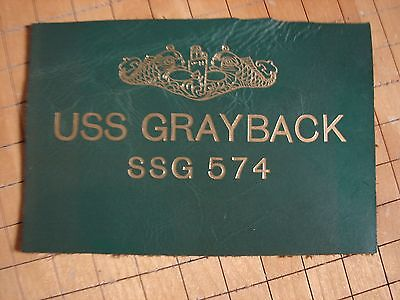 BC Patch Embroidered Submarine Ball Cap USS Grayback SSG 574 Made in USA