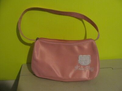 "Sanrio Hello Kitty 9"" Pink Pouch Bag"