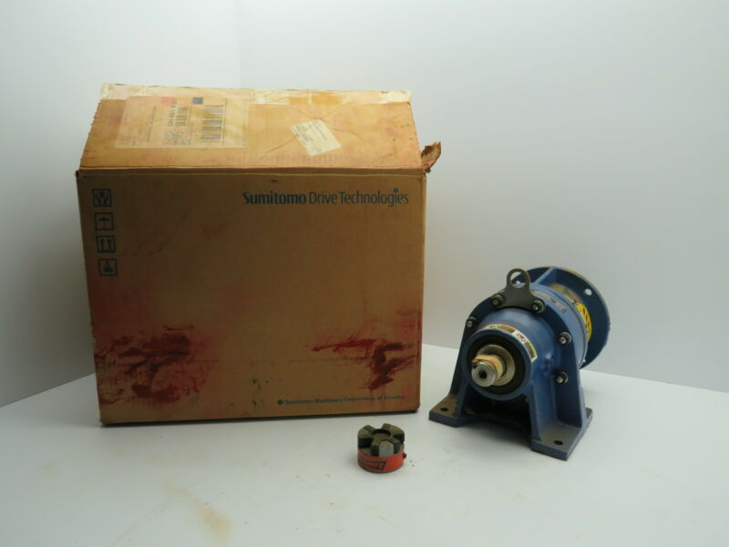 Sumitomo CNHJ-6105Y-43 Inline Gearbox Speed Reducer 1.45 HP 43:1 Ratio