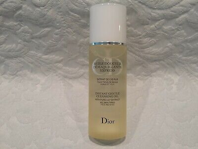 Christian Dior-Instant Gentle Cleansing Oil W/ Pure Lily - All Skins - 6.7 Oz