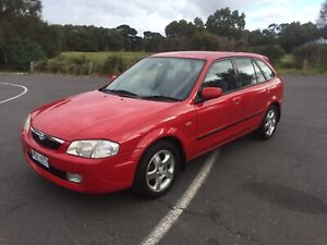 Mazda 323 with RWC and REGO