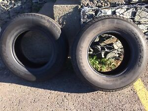 2 truck tires for sale