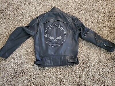 L Harley Davidson Willie G leather jacket
