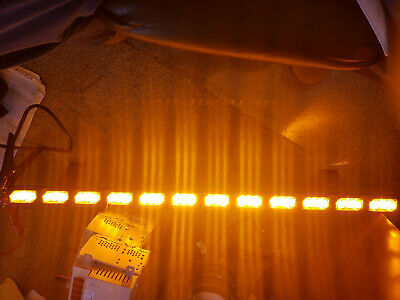 Soundoff Signal Ultralite 12 Interior Lightbar El3h12a00a Full Amber 12 Led