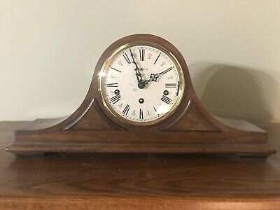 Howard Miller Triple Chime Key Wind Mantel Clock 612-1050-020  Excellent Cond