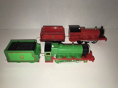 Thomas & Friends Trackmaster James And Henry Motorized Train Engines