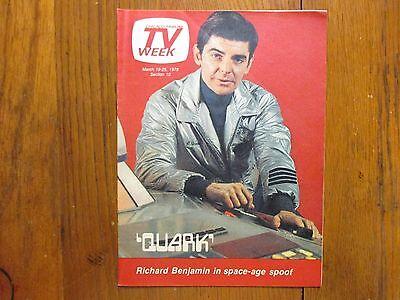 Mar 1978 Chicago Tribune Tv Week Richard Benjamin Quark Tricia   Cyb Barnstable