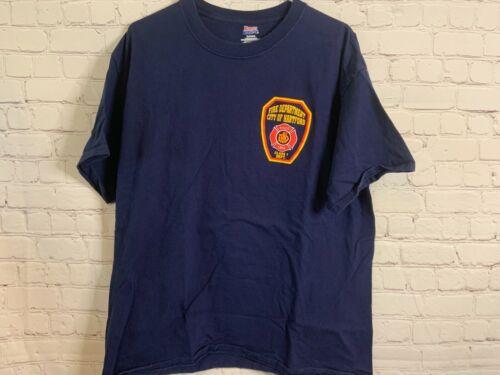 City Of Hartford Fire Department T Shirt Size XL
