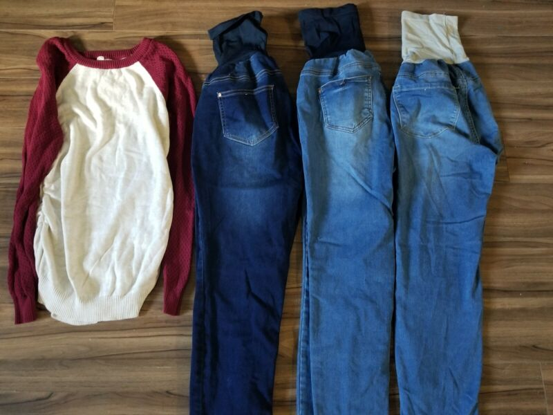 Maternity Clothing 8 Pieces Lot Size Large