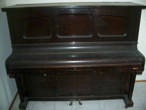 Antique player piano OOAK take a look!