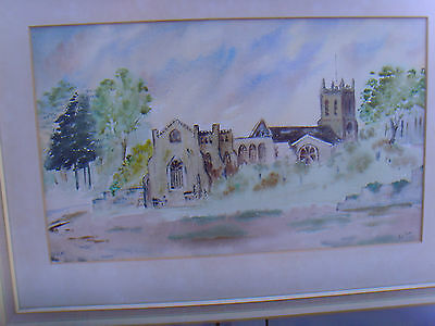 Christchurch Priory print by Philys Barns