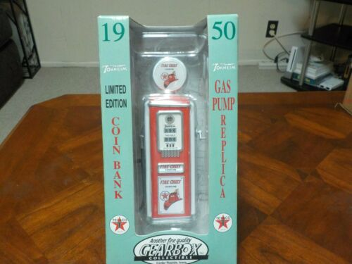 Texaco Gas Pump Fire Chief 1950