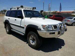1998 Nissan Patrol GU ST Polar White 5 Speed Manual Wagon 4X4 Diesel Welshpool Canning Area Preview